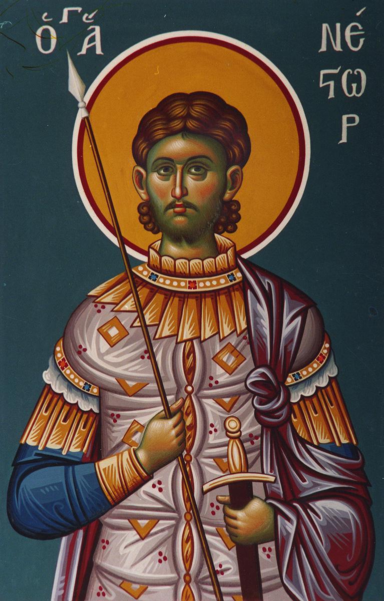 Sfântul Mare Mucenic Nestor. Sursa foto: doxologia.ro