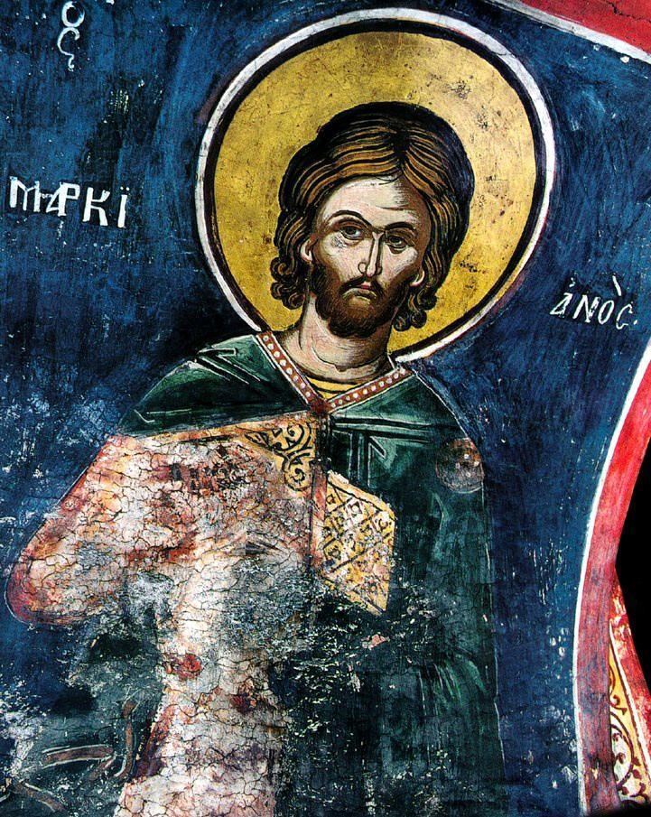 Sfântul Marcian. Sursa foto: doxologia.ro