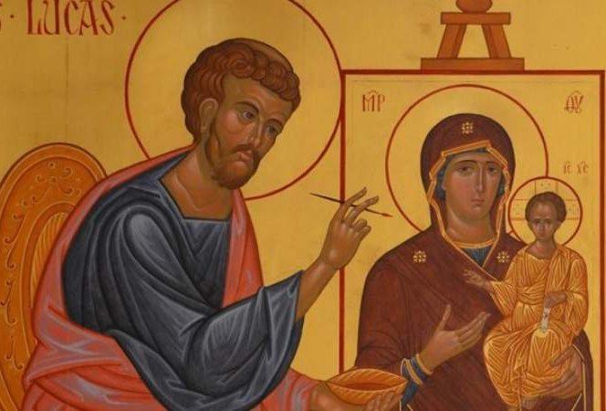 Calendarul ortodox îl prăznuiește pe 18 octombrie pe Sfântul Luca