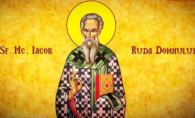 Calendarul ortodox îl prăznuiește pe 23 octombrie pe Sfântul Iacob