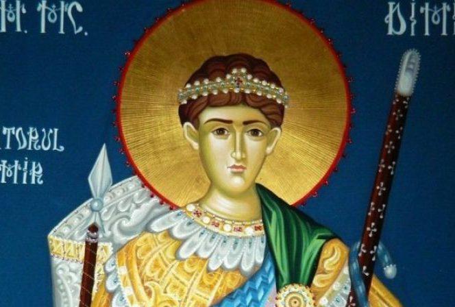 Calendarul ortodox îl prăznuiește pe 26 octombrie pe Sfântul Dumitru