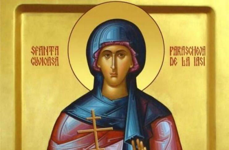 Sfânta Cuvioasă Parascheva. Sursa foto: antena3.ro