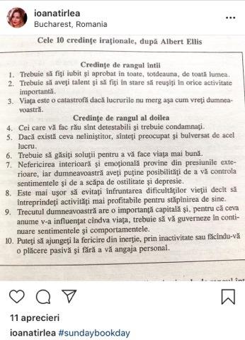 Ce posta Ioana Țîrlea pe internet, înainte sa se sinucidă. Mesaj