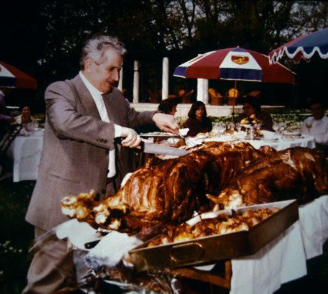 Ce prefera să mănânce Nicolae Ceaușescu. Nicolae Ceaușescu