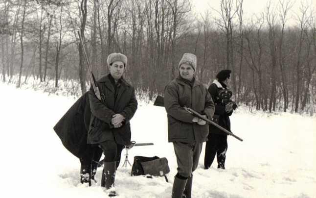 Vânătoarea era una dintre pasiunile lui Ceaușescu