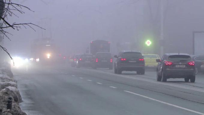 Ceața face probleme în toată țara. Sursa foto: protv.ro