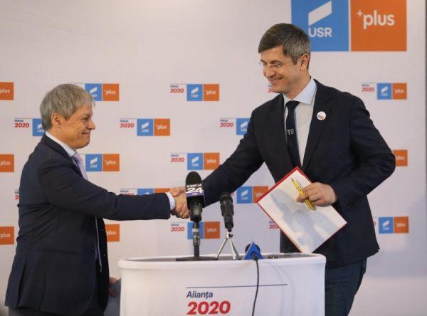 Dacian Cioloș, premierul alianței USR Plus! Cioloș și Barna