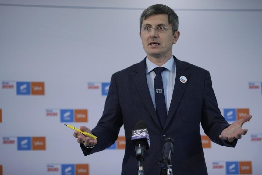 Dan Barna, candidatul USR-PLUS la alegerile prezidențiale. Sursa foto: digi24.ro