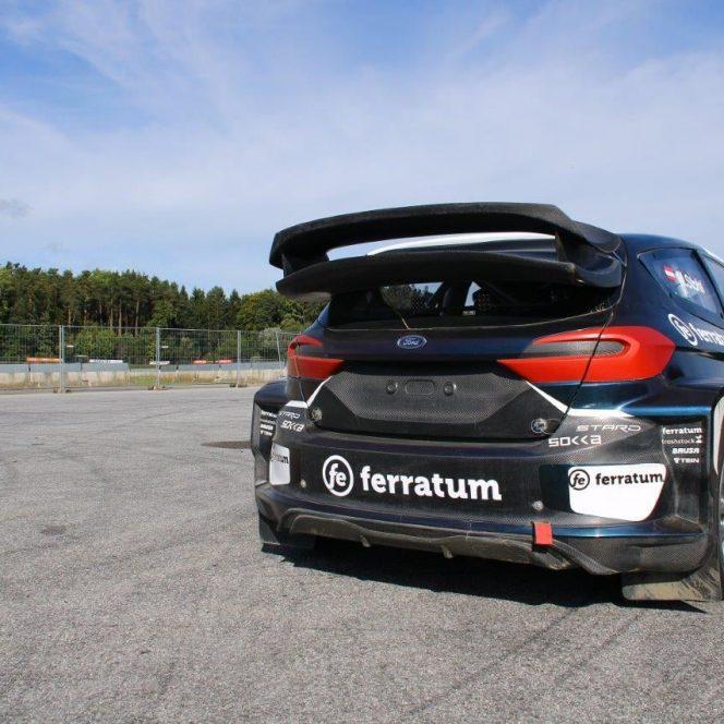 Dani Oțil va conduce un Ford 100% electric la Super Rally București