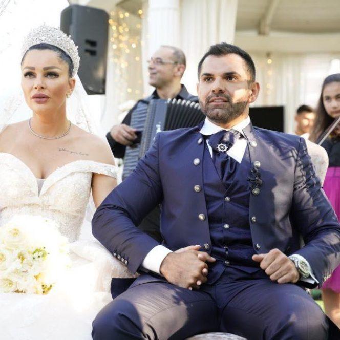 Florin Pastramă, alături de soția sa, Brigitte. Sursa foto: wowbiz.ro