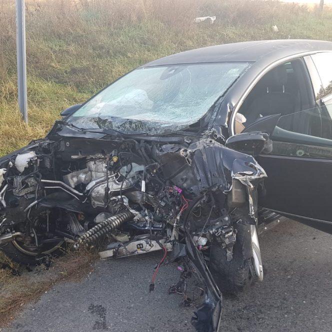 Două accidente grave în România sâmbătă dimineață