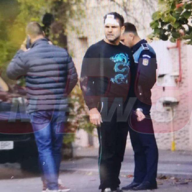 Florin Pastramă, vizibil șifonat după bătaia încasată. Sursa foto: spynews.ro