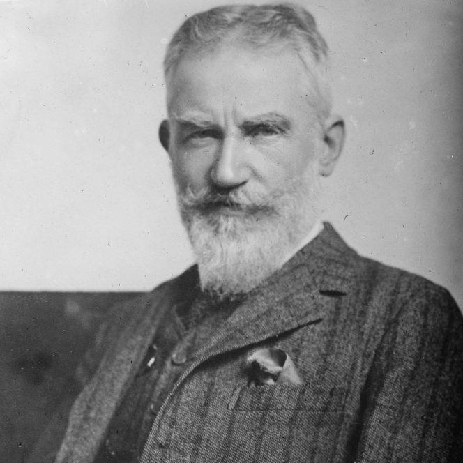 George Bernard Shaw, diferența între copilărie și bătrânețe. George Bernard Shaw