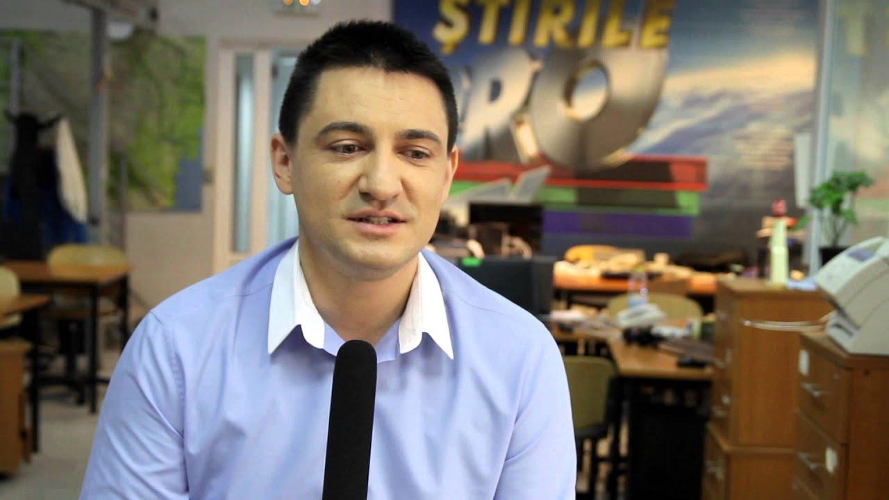 George Buhnici, pe când era reporter de investigație la Pro TV. Sursa foto: Youtube