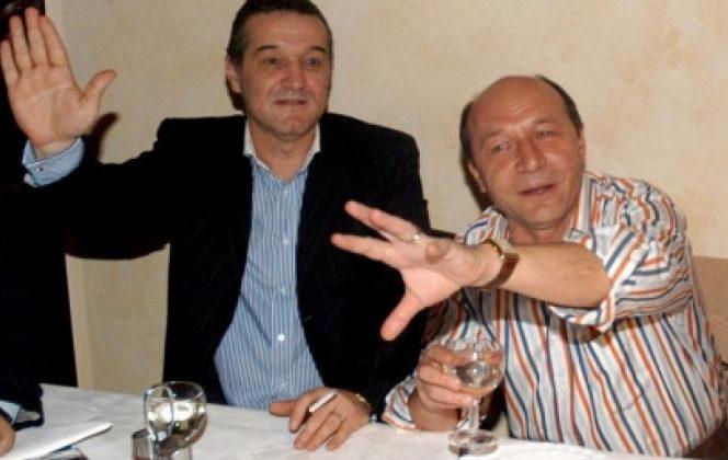 Gigi Becali a dezvăluit de ce nu l-a invitat pe Traian Băsescu la nunta Teodorei. Becali și Băsescu