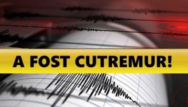Cutremur PUTERNIC în ROMÂNIA! Unde s-a produs și câte GRADE a avut