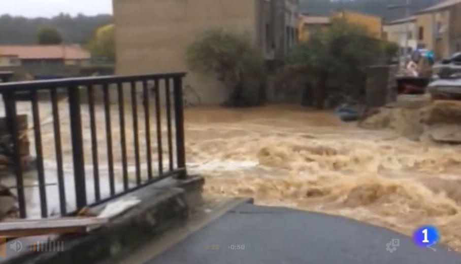 inundațiile din spania și franța