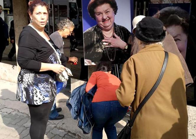 Ioana Tufaru i-a adus un ultim omagiu Tamarei Buciuceanu