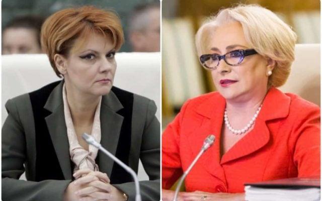 Lia Olguța Vasilescu, șefa campaniei electorale pentru Viorica Dăncilă! Lia și Dăncilă