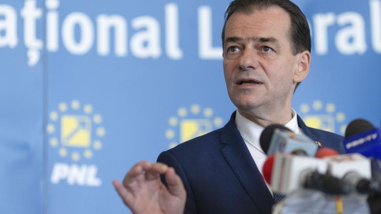 Ludovic Orban este convins că Guvernul său va trece de votul Parlamentului. Sursa foto: digi24.ro