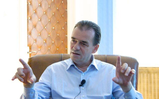 ludovic orban prim-ministru