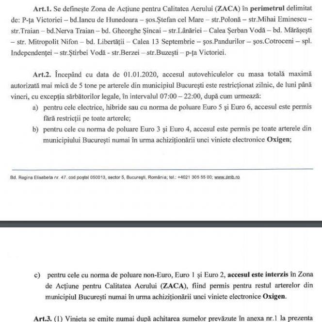 Ce mașini vor fi interzise în centrul capitalei de taxa Gabrielei Firea