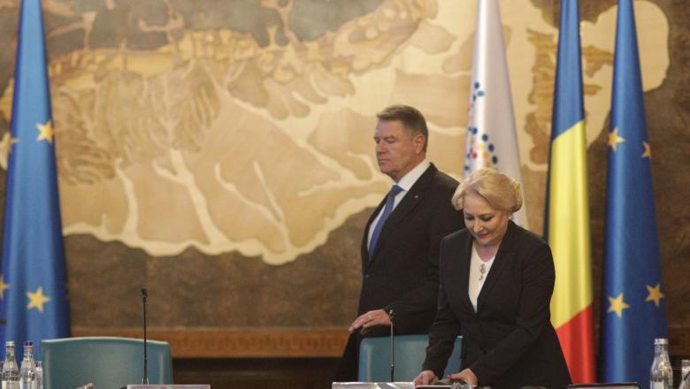 Viorica Dăncilă și Klaus Iohannis se pregătesc pentru alegerile prezidențiale. Sursa foto: digi24.ro