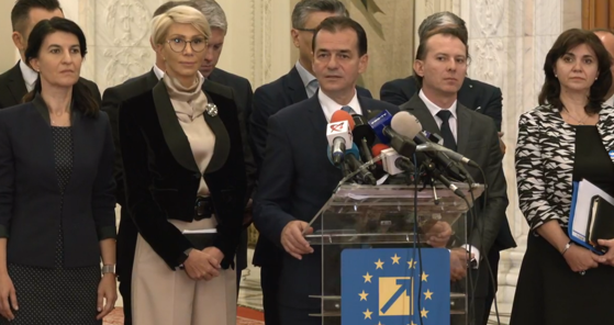 Programul de guvernare al PNL, criticat de social-democrați. Sursa foto: mediafax.ro