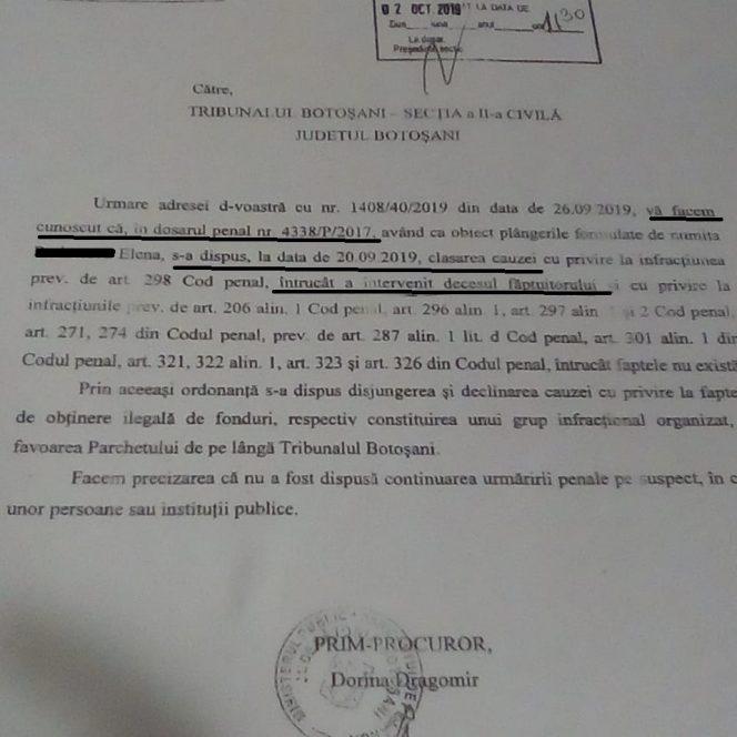Un primar din Botoșani a fost declarat mort de procurori să scape de un dosar