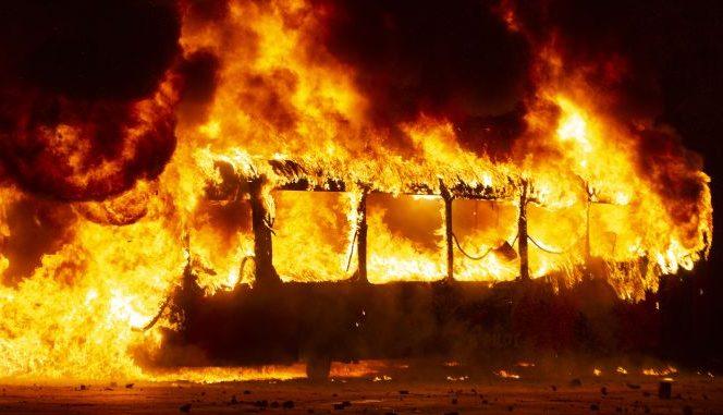 Război în Chile! Foc