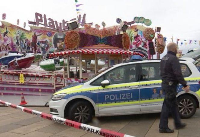 Româncă moartă în Germania sub ochii iubitului ei. Carusel