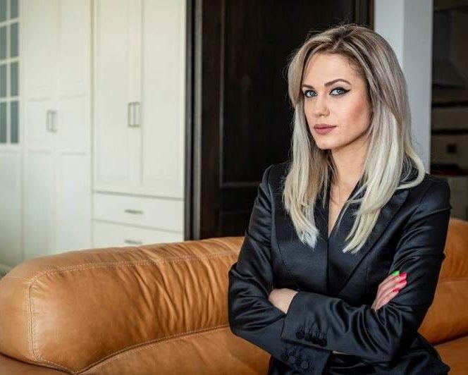 Michaela Prosan, încântată de rolul său din Sacrificiul. Sursa foto: a1.ro