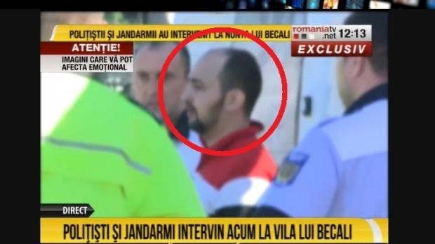 Scandal monstru la poarta lui Gigi Becali, în ziua nunţii Teodorei. Individ