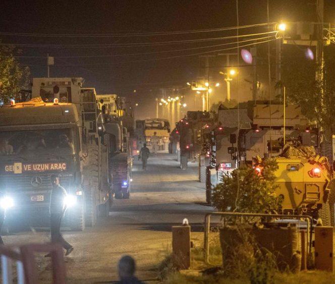 Turcia, bombardament în nordul Siriei împotriva coaliției kurdo-arabe