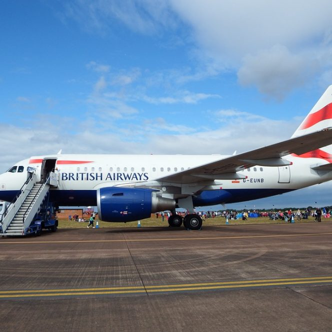 Un avion al British Airways a aterizat de urgență