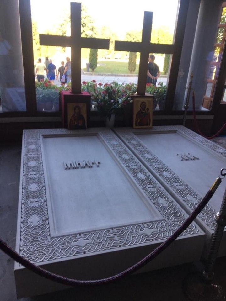 Regele Mihai este înmormântat alături de soția sa, Regina Ana