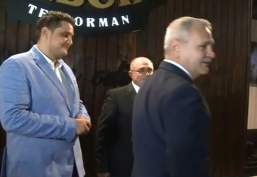 Valentin Dragnea, băiatul lui Liviu Dragnea, scandal cu Poliția! Valentin Dragnea și Liviu Dragnea