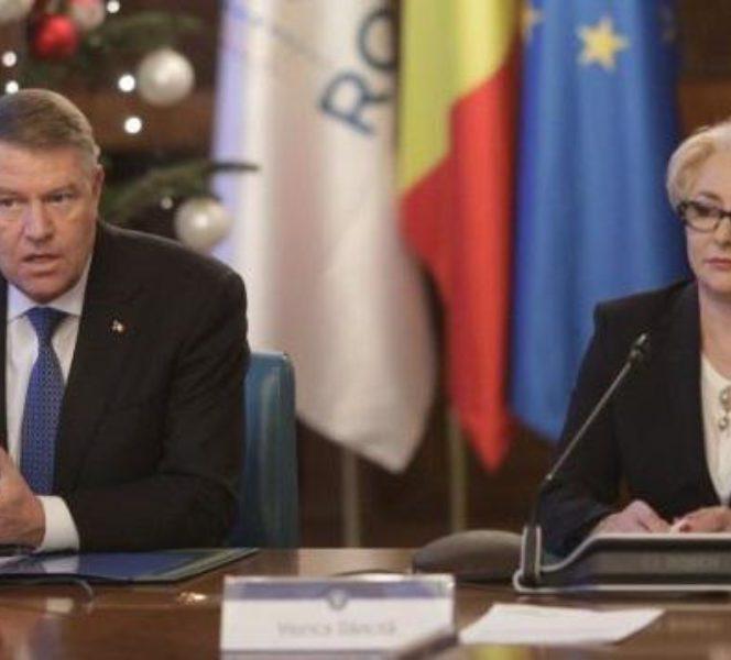 Viorica Dăncilă a vrut să-l suspende pe președintele Klaus Iohannis! Dăncilă și Iohannis