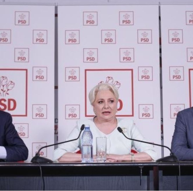 Viorica Dăncilă ar putea fi dată jos de la conducerea PSD de o tabără condusă de Paul Stănescu, Gabriela Firea și Marcel Ciolacu