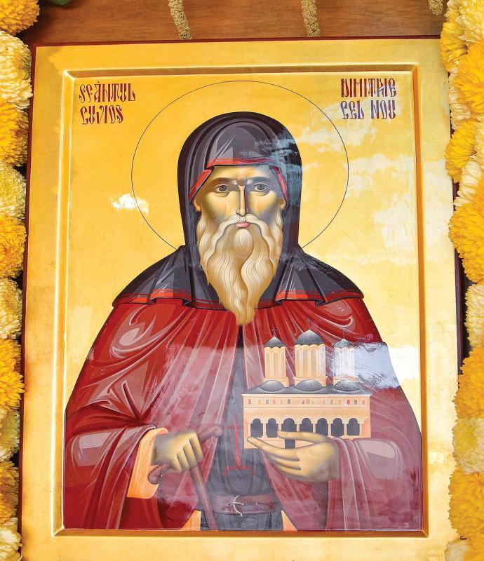Sfântul Dimitrie cel Nou. Sursa foto: ziarullumina.ro