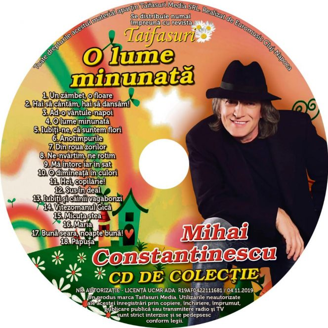 CD în Premieră Naţională. Mihai Constantinescu