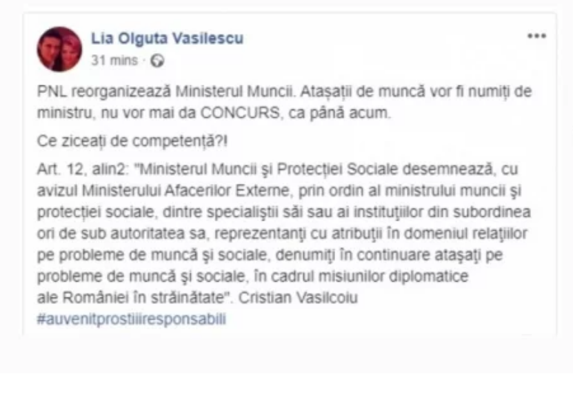 Scandal între Violeta Alexandru și Lia Olguța Vasilescu