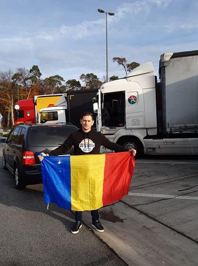 Un român din Germania duce șoferii de TIR la vot cu mașina personală