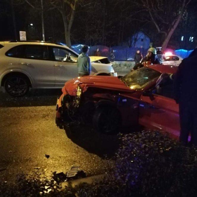 Alexandra Penescu a fost implicată într-un accident la Pitești