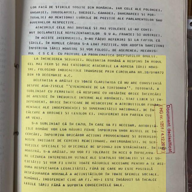 Documentele MAE care confirmă că Teodor Meleșcanu a mințit cu privire la victimele Revoluției