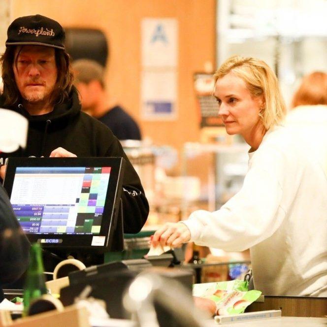 Norman Reedus, la cumpărături