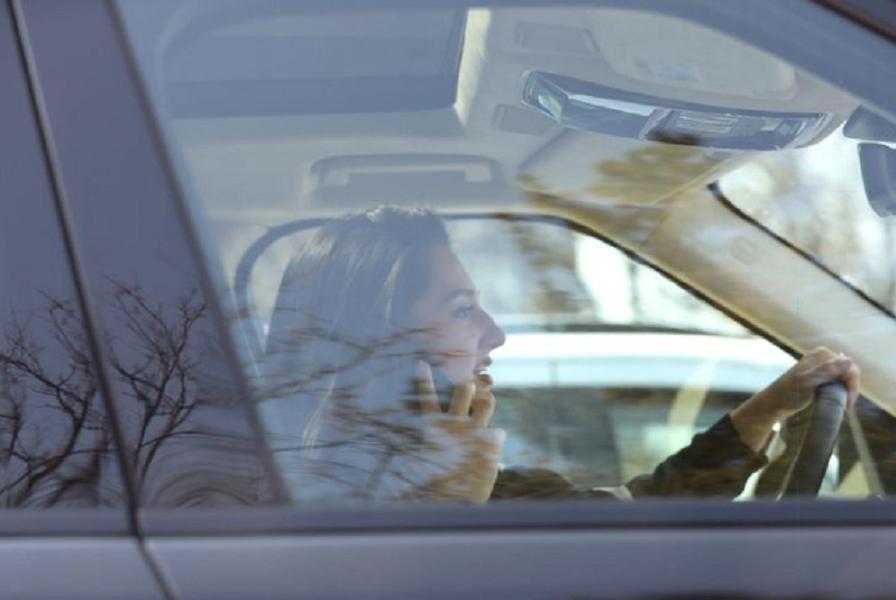 Teodora Becali a vorbit la telefon în timp ce conducea
