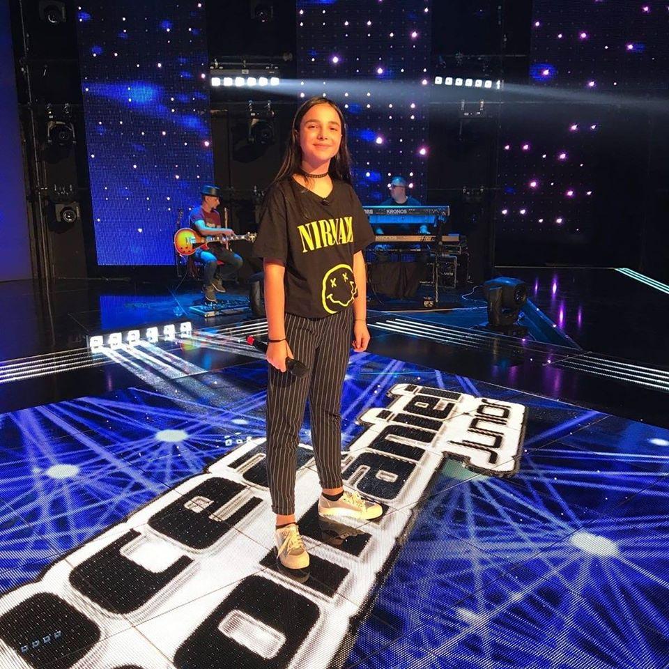 Olivia Alexandru la Vocea României