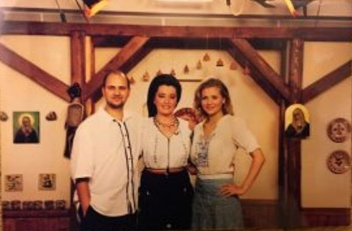 Mirela Vaida, la începutul carierei sale alături de Cosmin Seleși