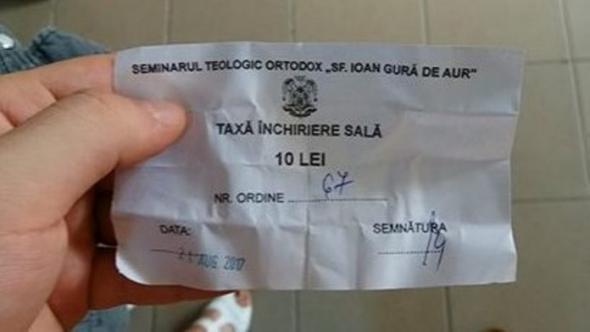 Vrei permisul auto Trebuie sa platesti o taxa de 10 lei Bisericii (1)